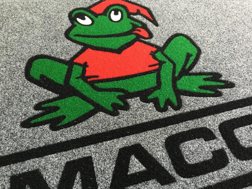 MACO s.r.l – Tappeto personalizzato con il logo MACO
