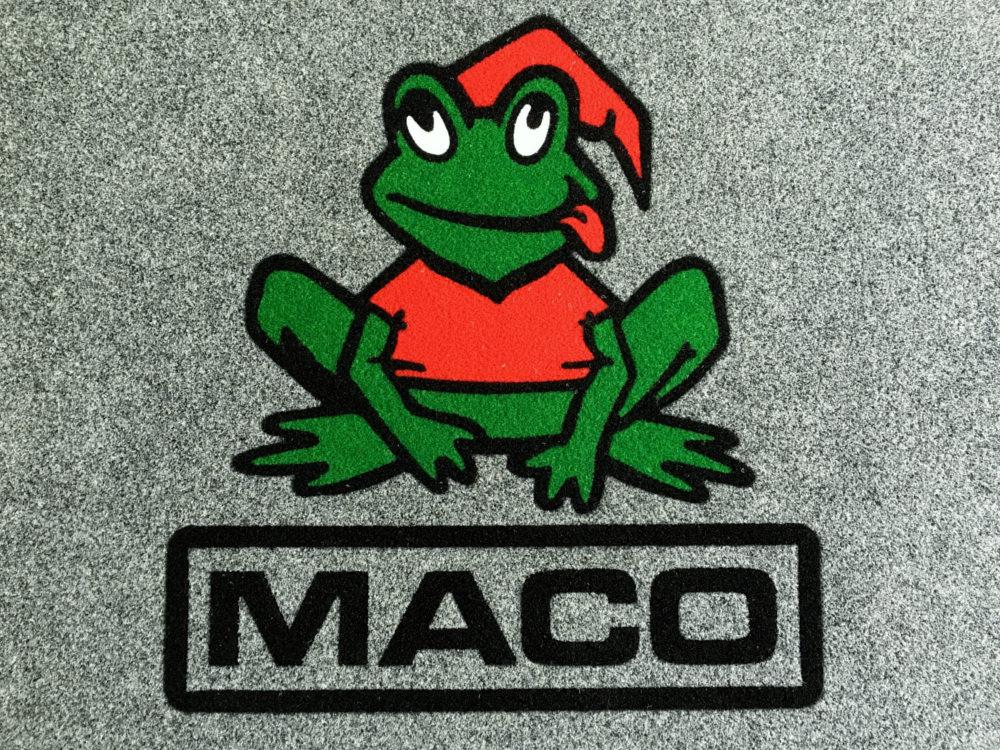 Tappeto Personalizzato con il logo MACO