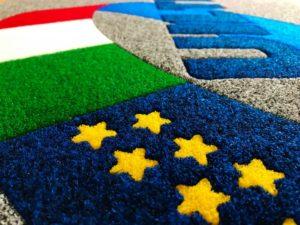Tappeti personalizzati ad intarsio realizzati in italia