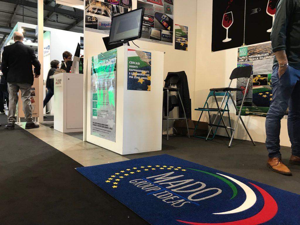 MADO Group Tappeti al Viscom 2018 padiglione 12 Stand M30