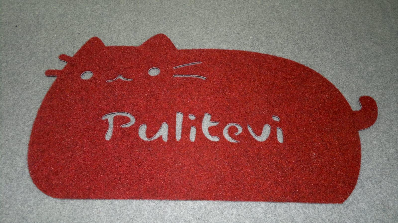 Tappeti incavati personalizzati realizzati in italia